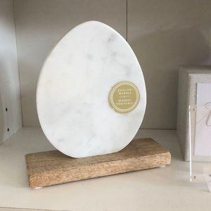 Home decor genuine marble oval